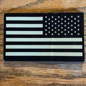 Infrared Military Flag Patch